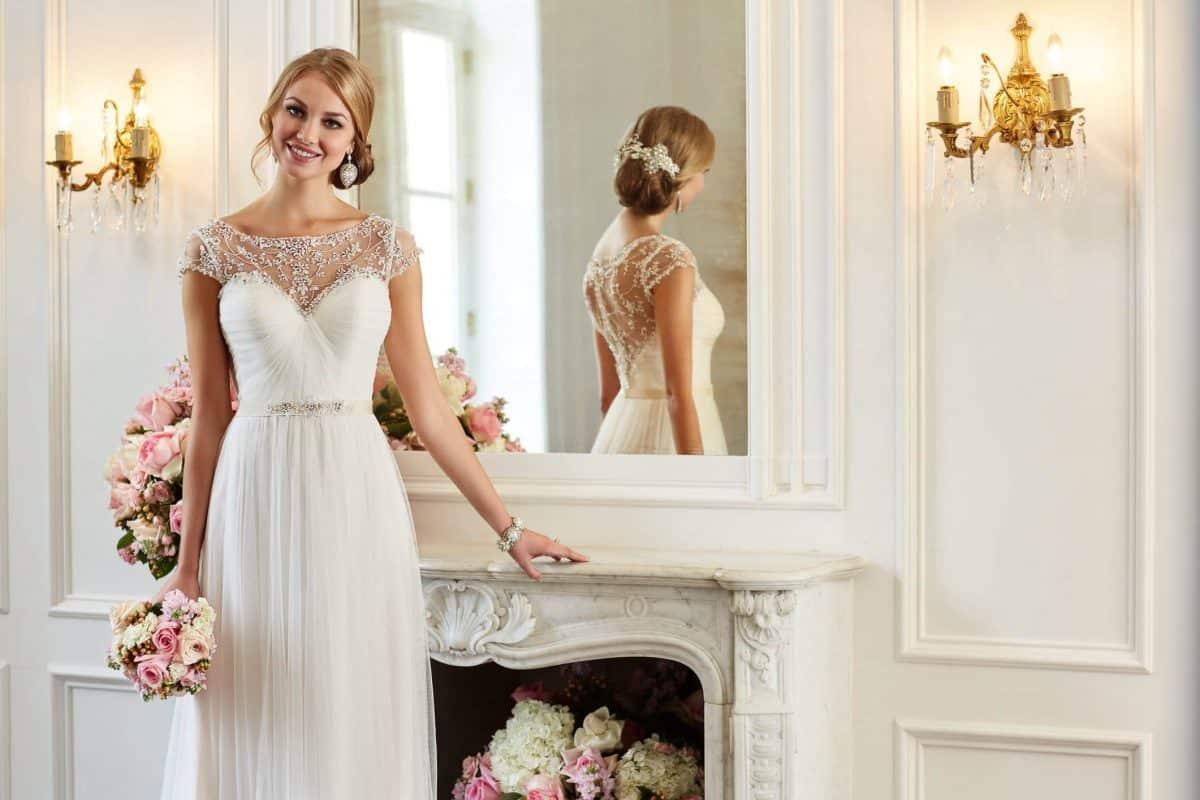 فستان عروس ناعم : اختاري التصميم المناسب
