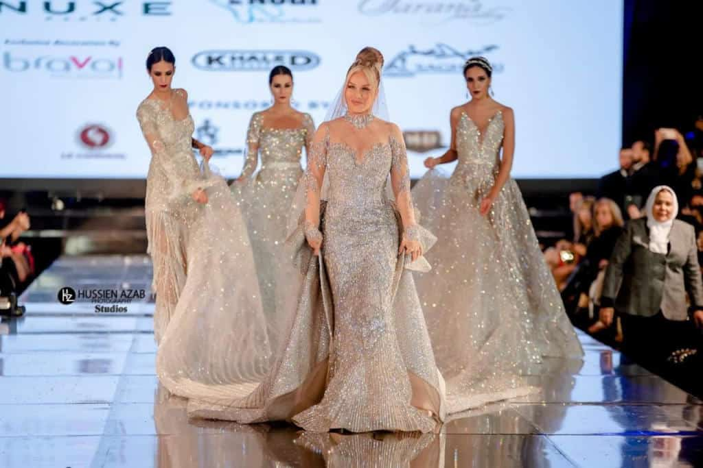 فساتين زفاف مرصعة بالالماس : فستان نيكول سابا