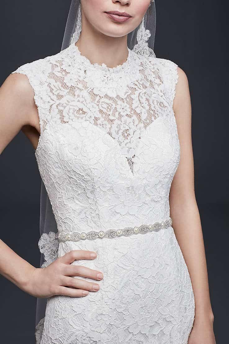 اكسسوارات زفاف: حزام الفستان