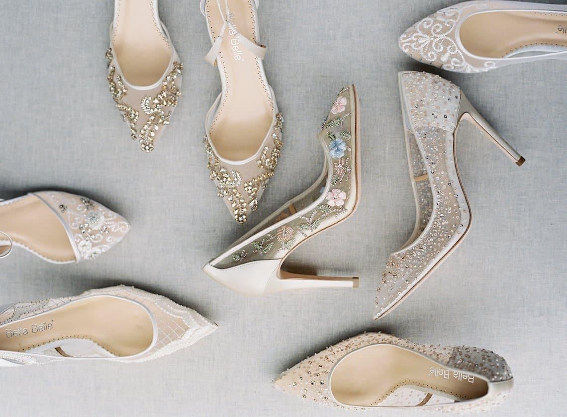 اكسسوارات زفاف: حذاء زفاف