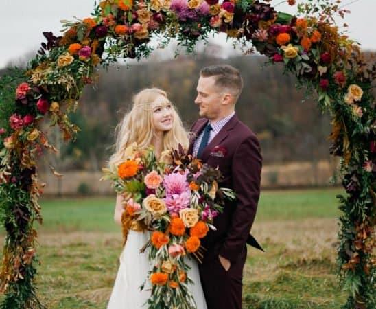 موضة تنظيم الأعراس