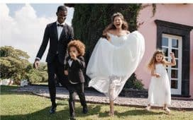 فستان زفاف H&M
