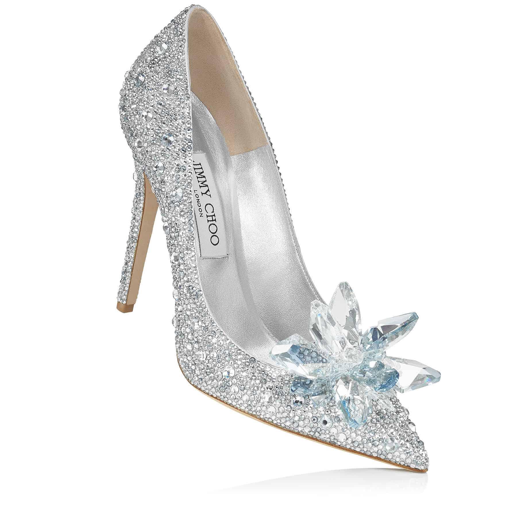 """أحذية زفاف من تصميم """"Jimmy Choo"""""""