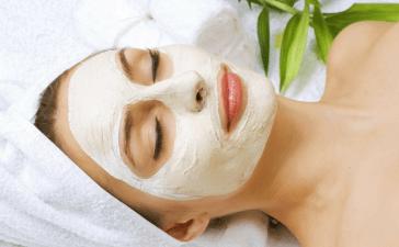 تبييض الوجه