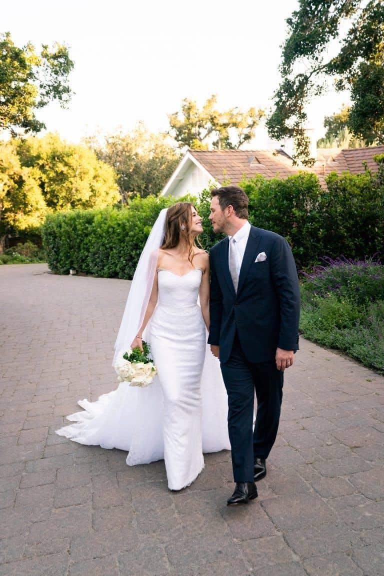 فستان زفاف كاثرين شفيزنيغر