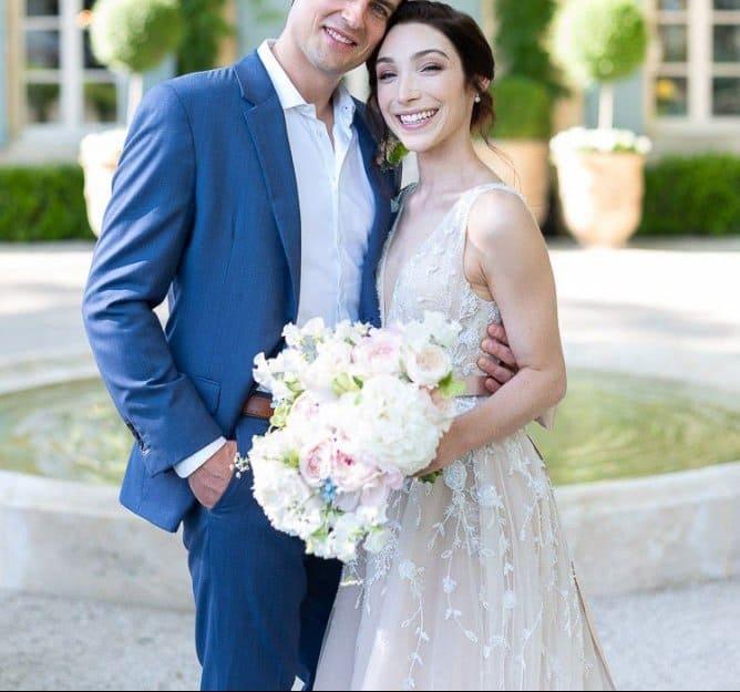 فستان زفاف ميريل دايفس