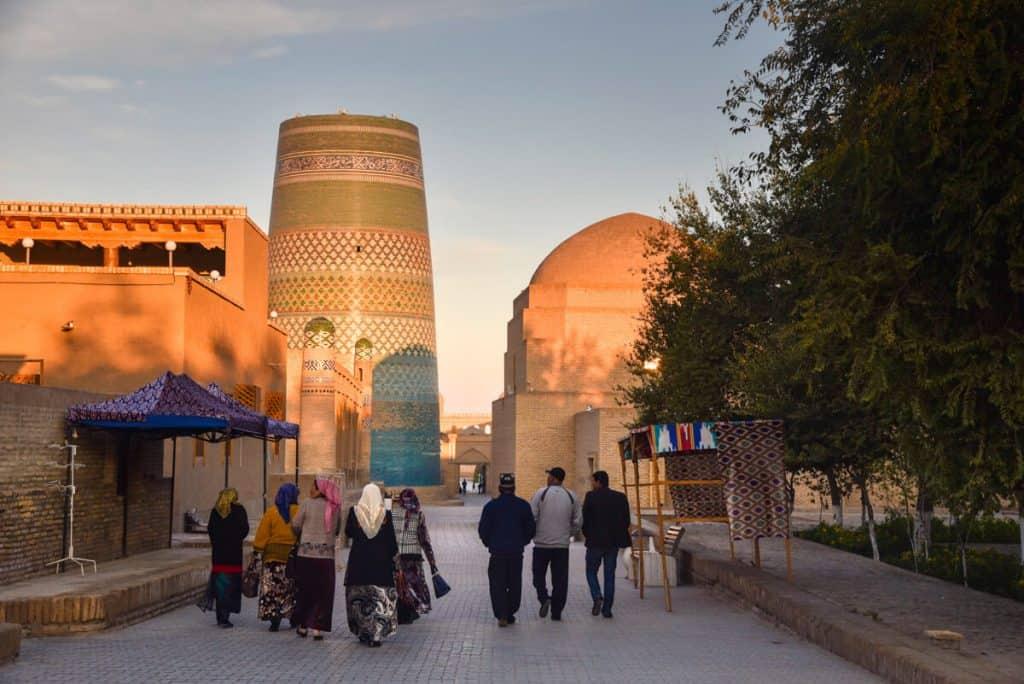 السياحة في أوزبكستان : التأشيرة