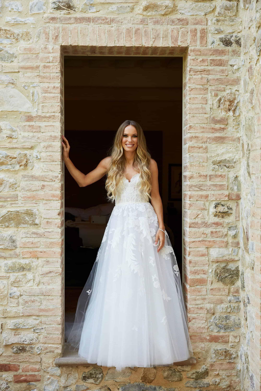 فستان زفاف كارولين فوزنياكي