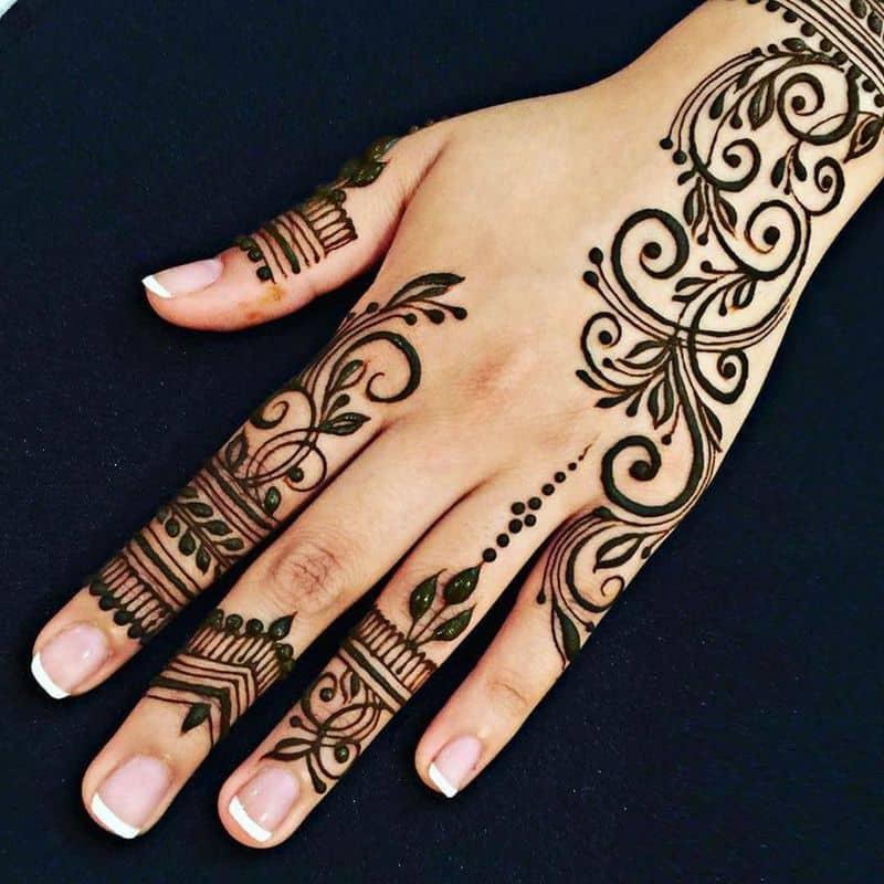 صور نقش حناء هندية