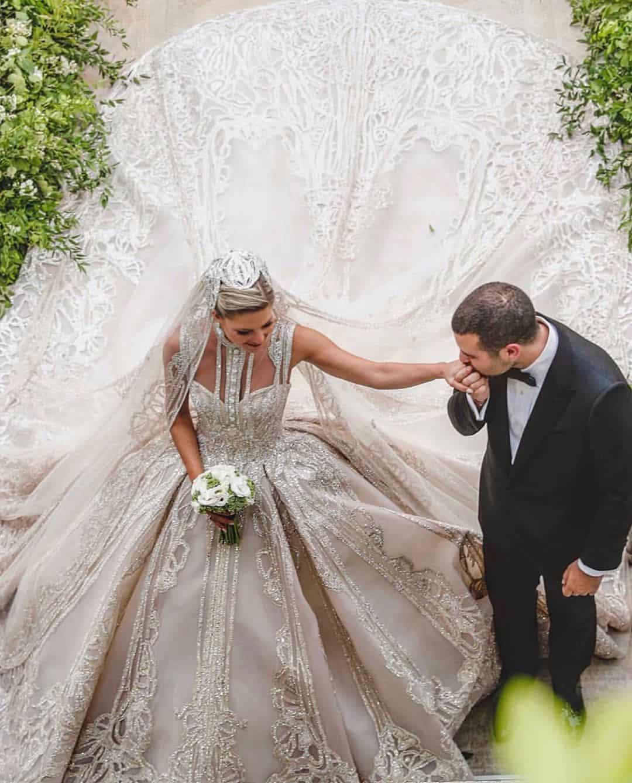 فساتين زفاف المشاهير : فستان زفاف كريستينا مراد