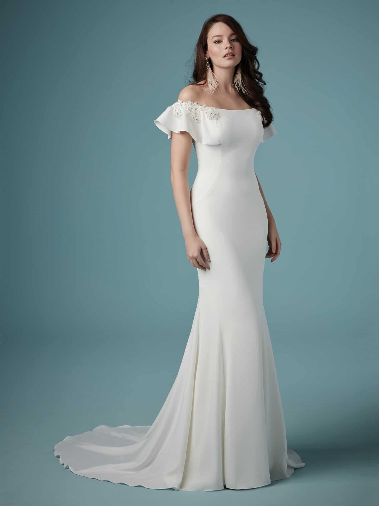 """فساتين زفاف ماجي سوتيرو : فستان زفاف """"Ainsley"""""""