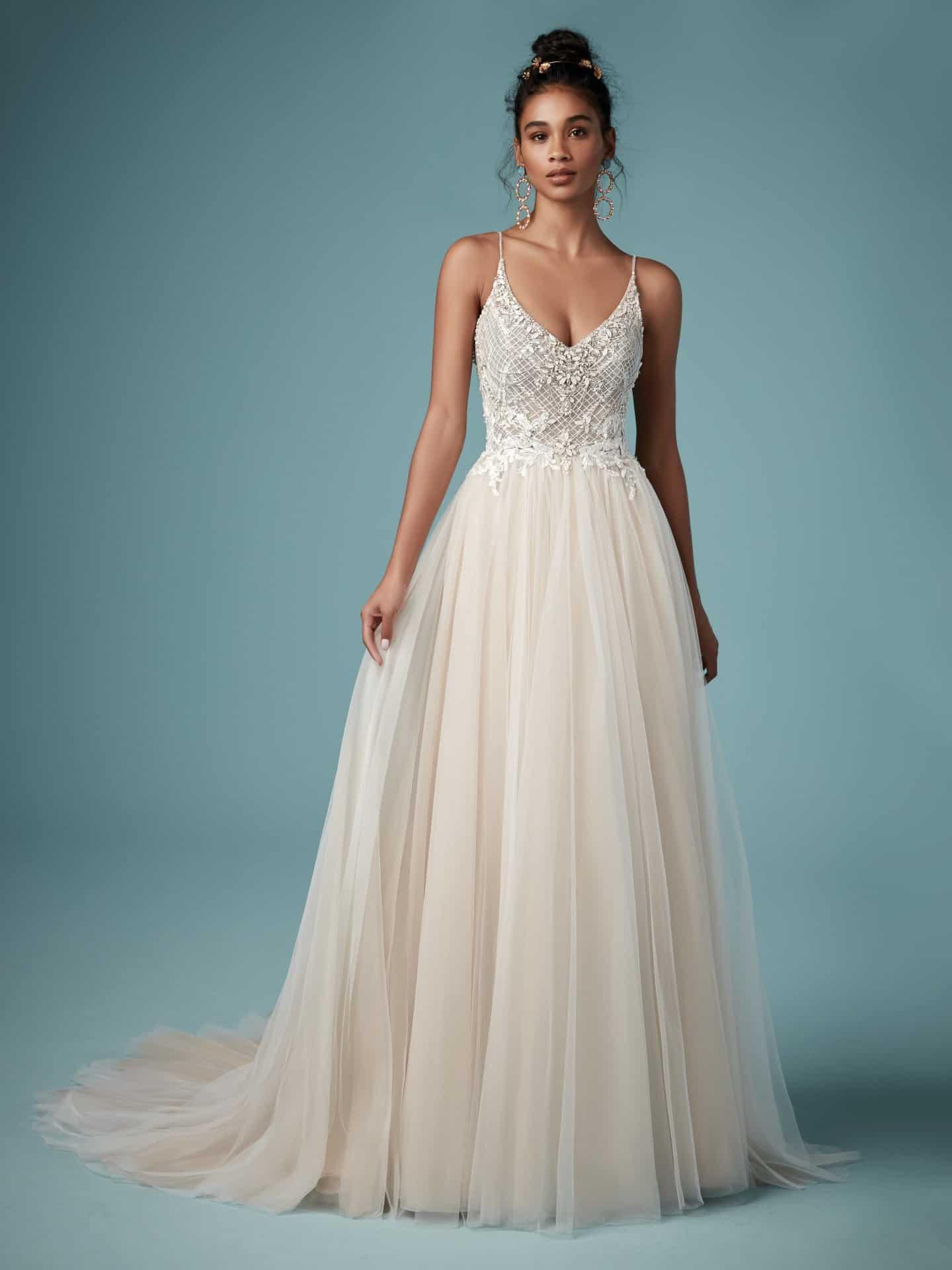 "فساتين زفاف ماجي سوتيرو : فستان زفاف ""Matilda"""