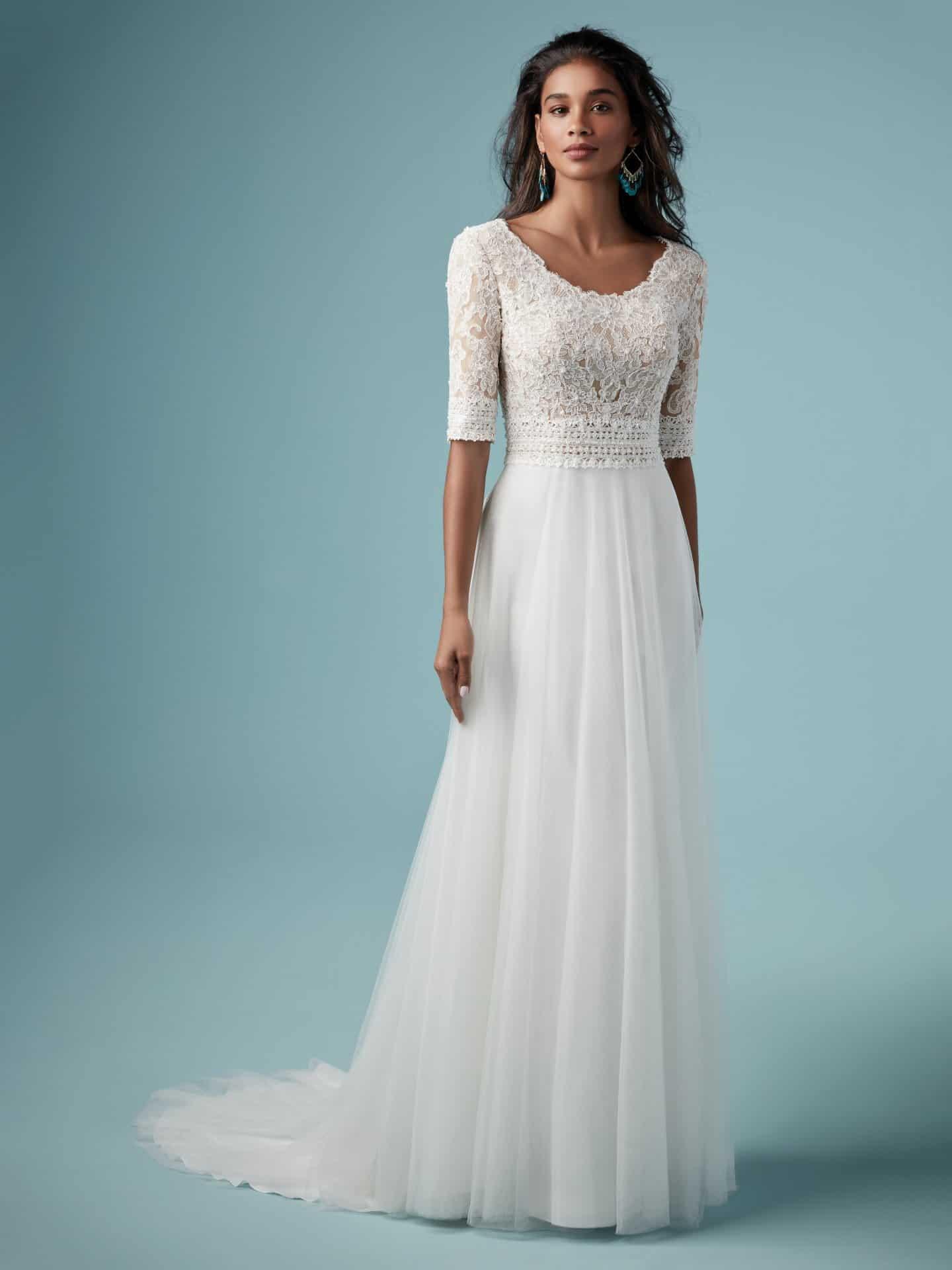 """فساتين زفاف ماجي سوتيرو : فستان زفاف """"Monarch Leigh"""""""