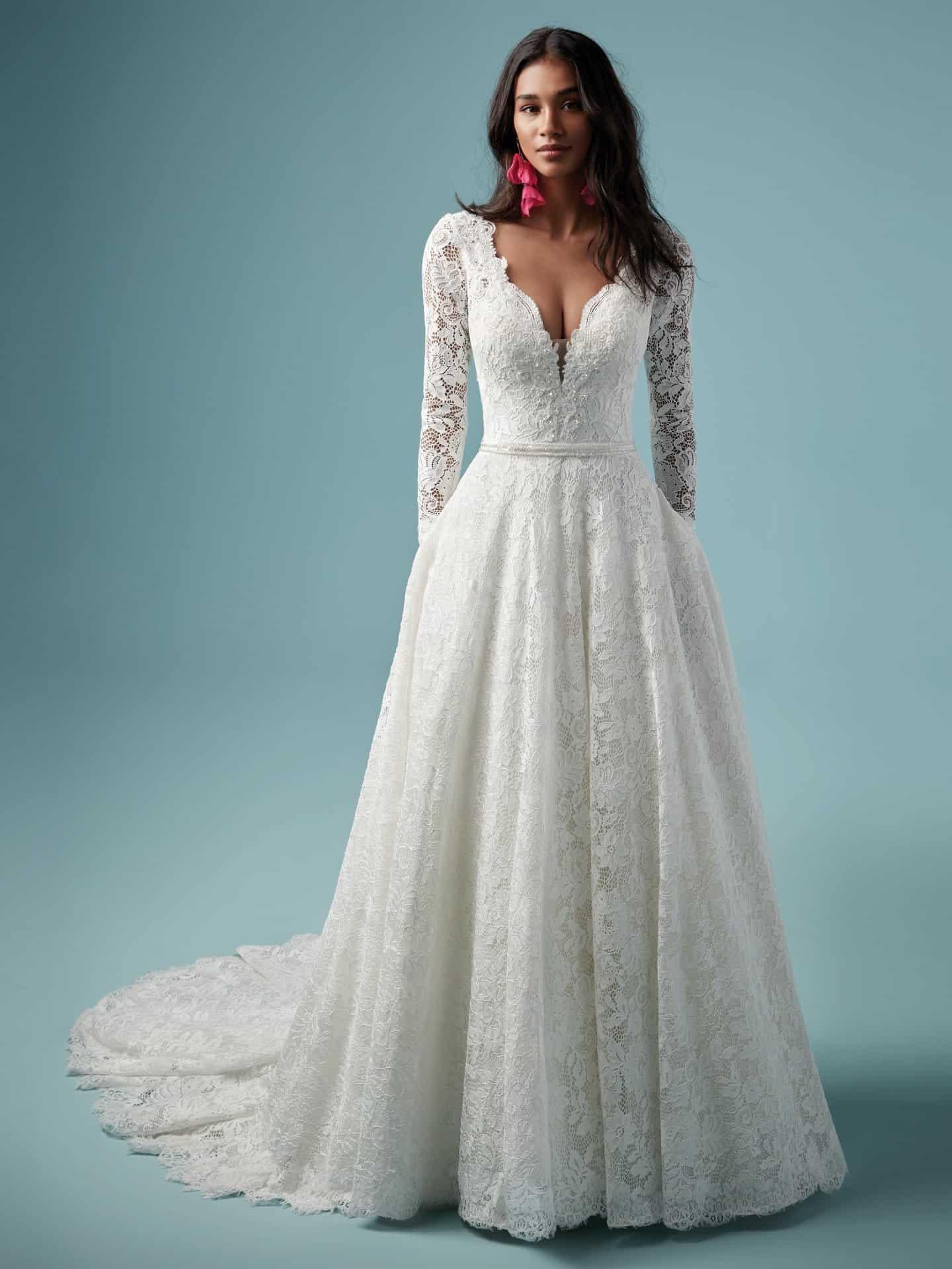 """فساتين زفاف ماجي سوتيرو : فستان زفاف """"Terry"""""""
