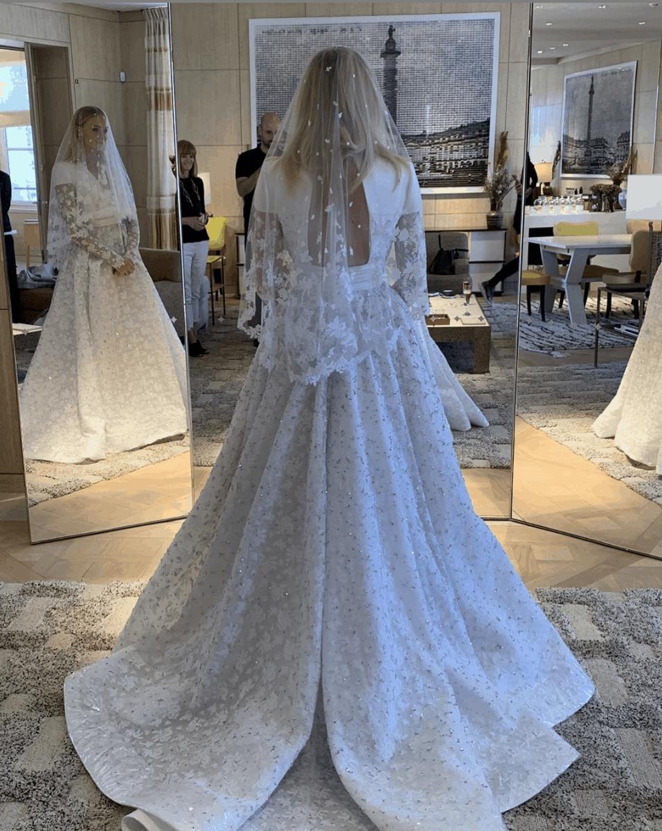 فساتين زفاف المشاهير : فستان زفاف صوفي تورنر