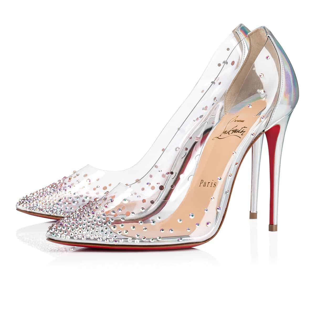 """أحذية زفاف من تصميم """" Christian Louboutin"""""""