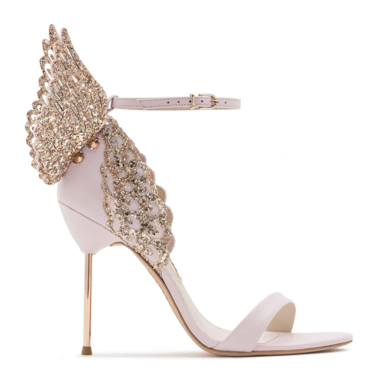 """أحذية زفاف من تصميم """"Sophia Webster"""""""