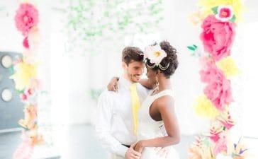صور ثيمات عروس ملونة