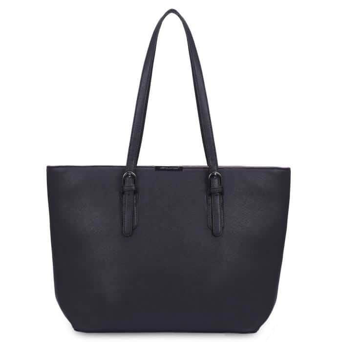 حقيبة سوداء فاخرة