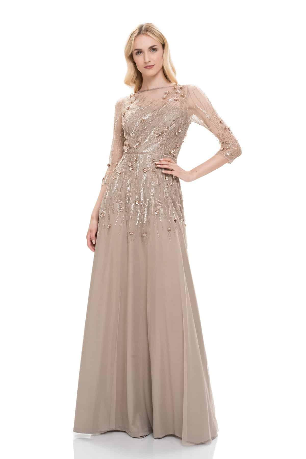 فستان سهرة من عالم السحر والأناقة