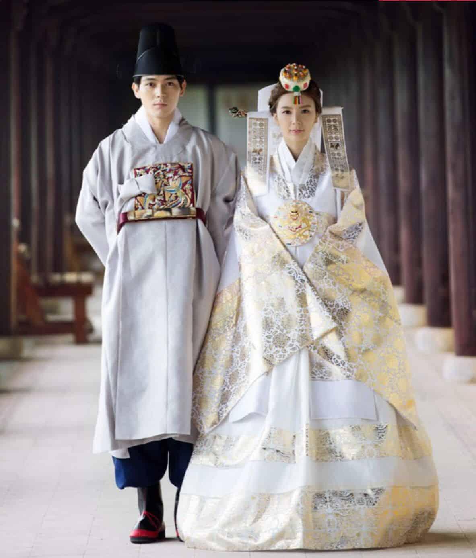 فستان زفاف عروس كوري