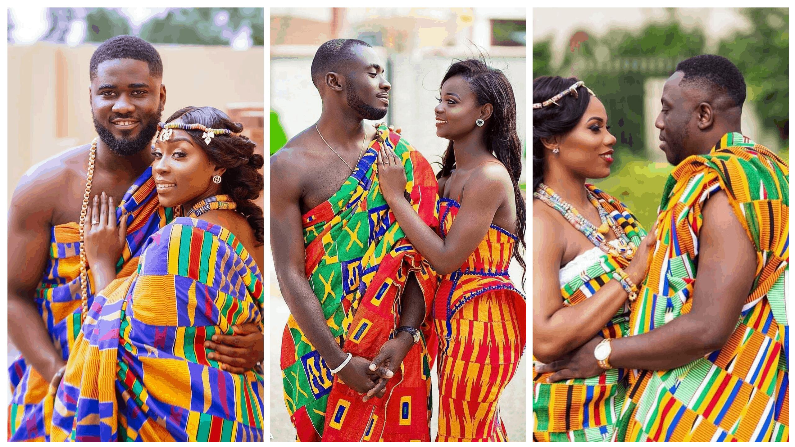 فستان زفاف عروس غانا