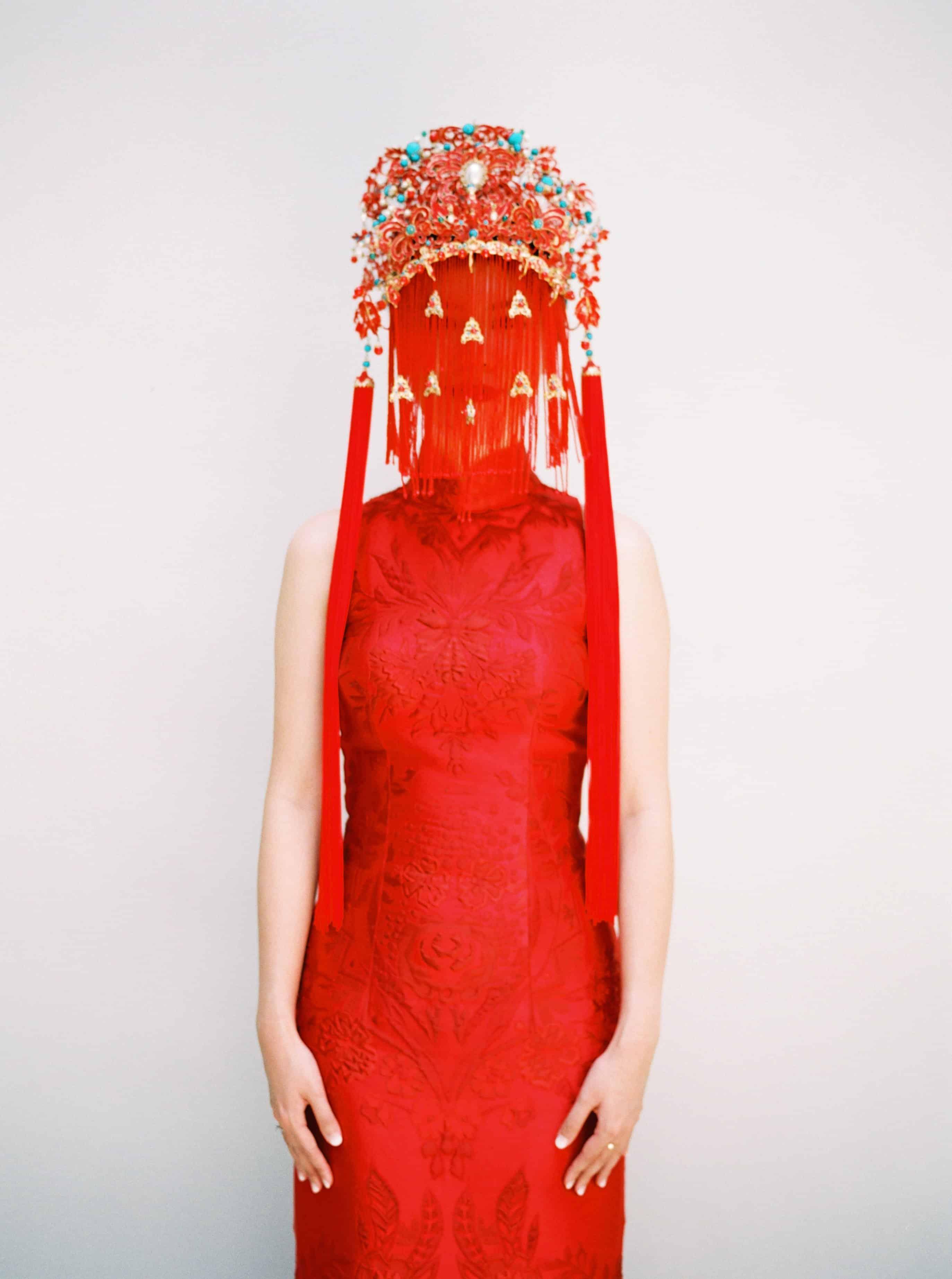 فستان زفاف عروس الصين