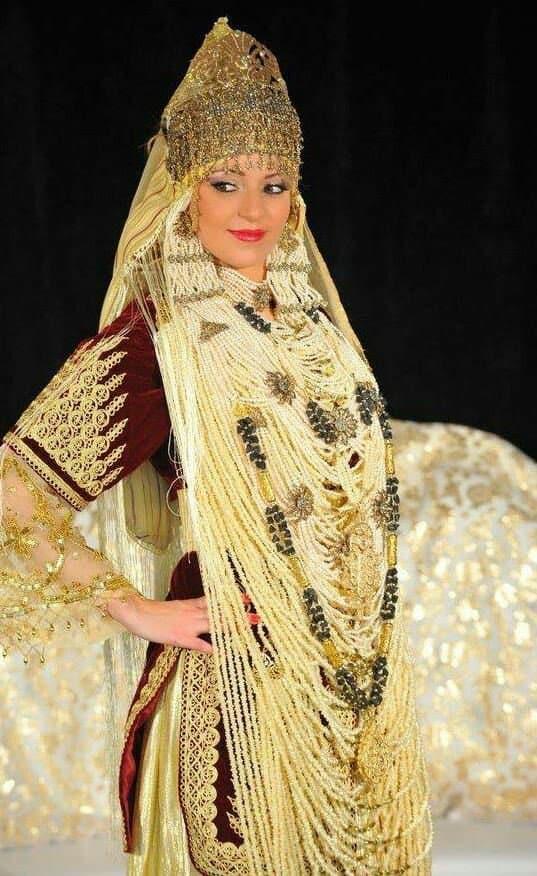 فستان زفاف عروس الجزائر