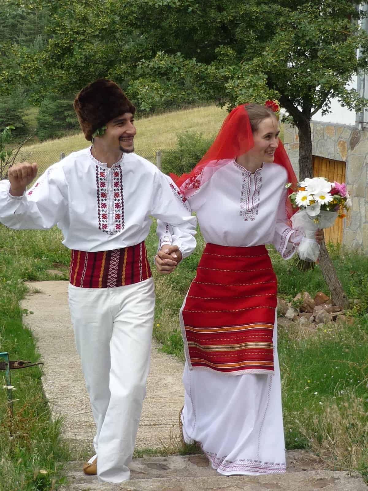 فستان زفاف عروس بلغاريا