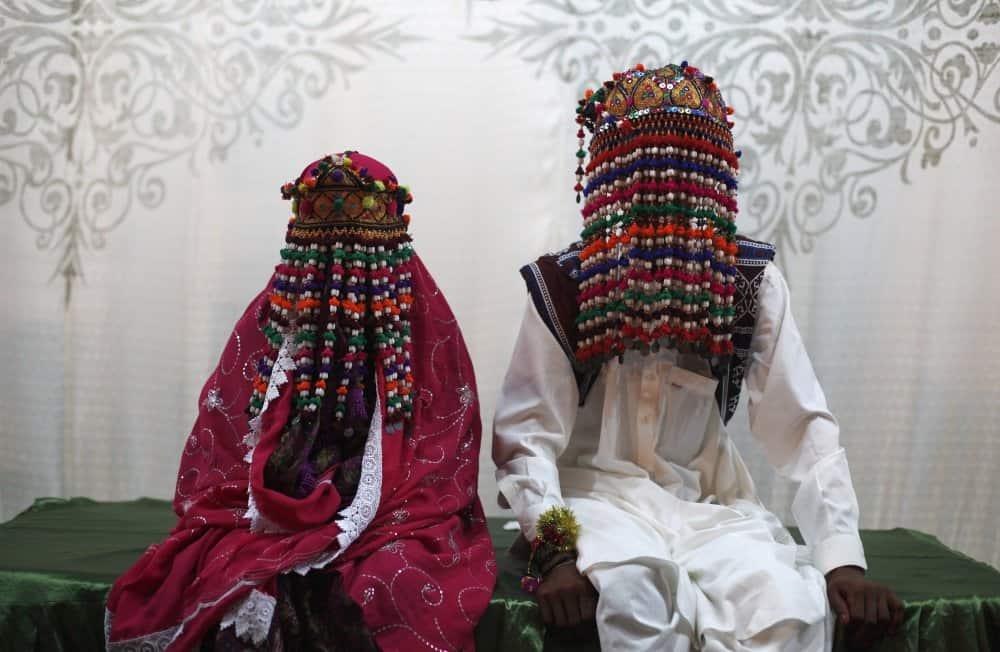 فستان زفاف عروس الباكستان