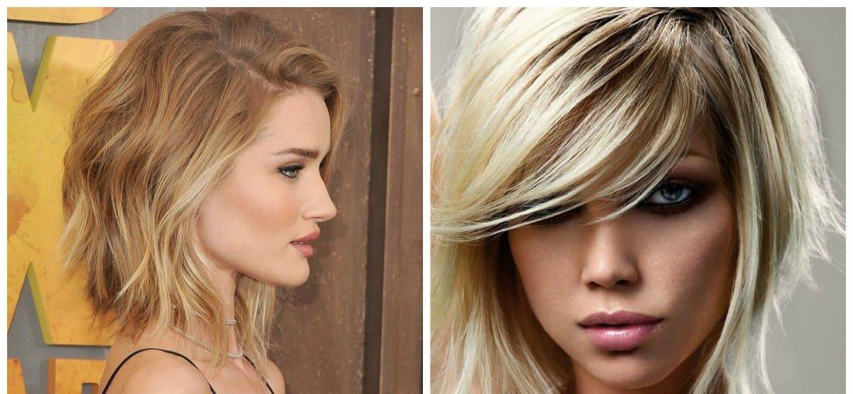 تسريحات الشعر المتوسط
