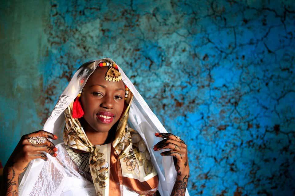 فساتين الزفاف حسب المناطق : فستان زفاف عروس النوبة، السودان
