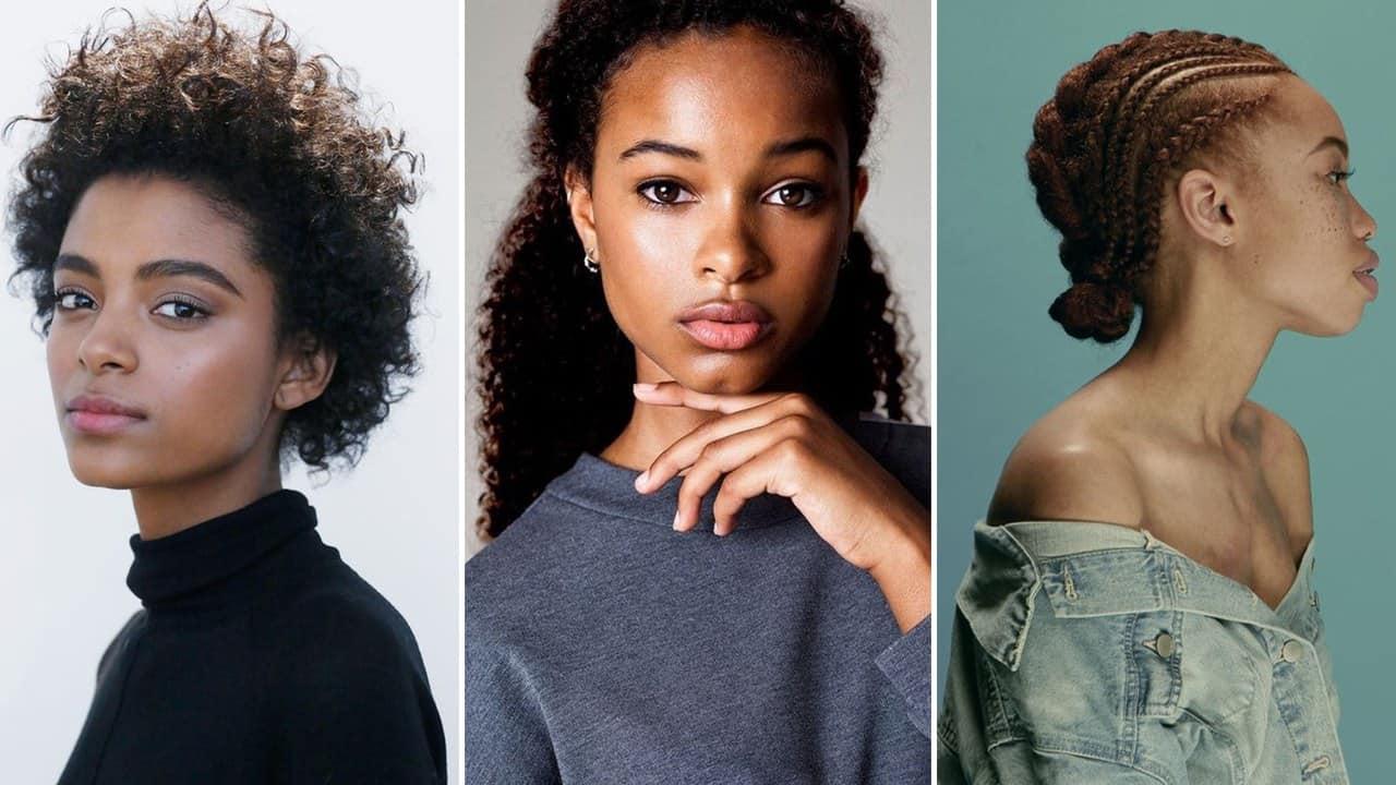 صور تسريحات شعر للمناسبات لصاحبات البشرة الملونة