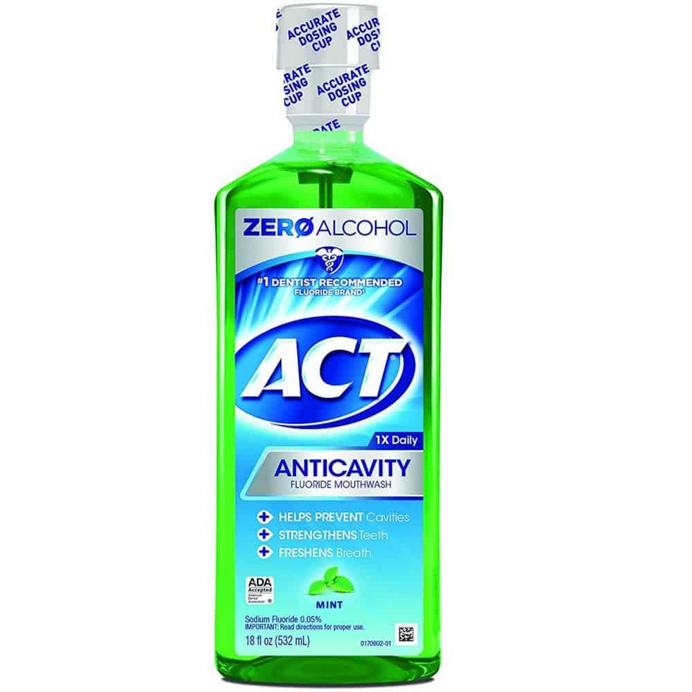 افضل غسول للفم : ACT