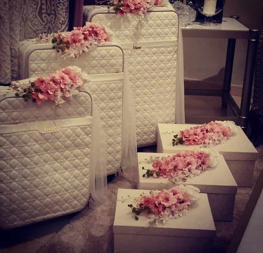 نقل أغراض العروس