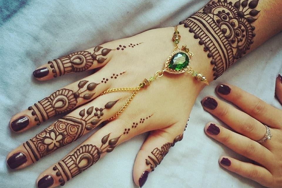 صور اروع نقش حناء هندي