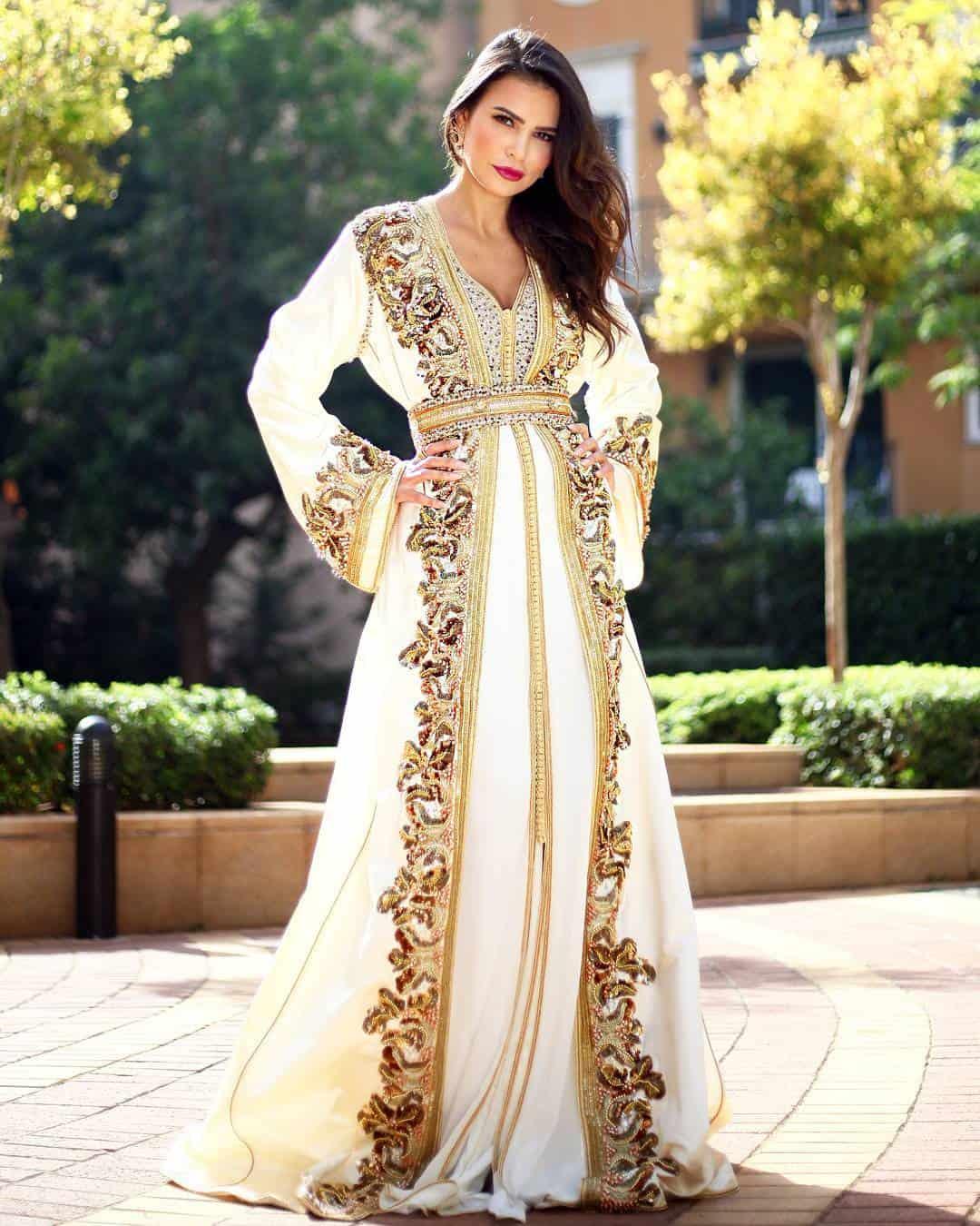 فستان زفاف عروس المغرب