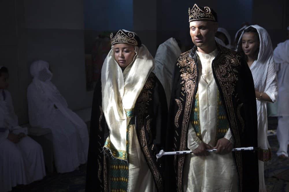 فساتين الزفاف حسب المناطق : فستان زفاف عروس إريتريا