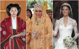 فساتين الزفاف حسب المناطق