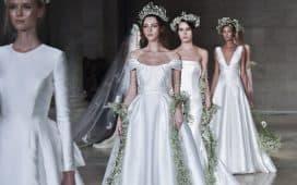 فساتين زفاف خريف 2019