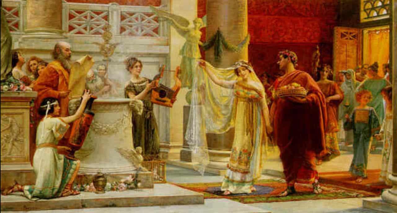 أسطورة من عهد الرومان