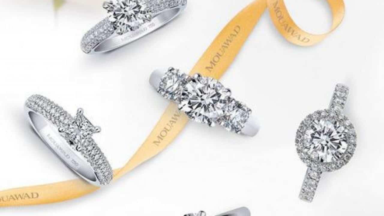 مجوهرات معوض الألماسية : خواتم خطوبة