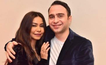 حسام حبيب يحتفل بعيد ميلاد شيرين