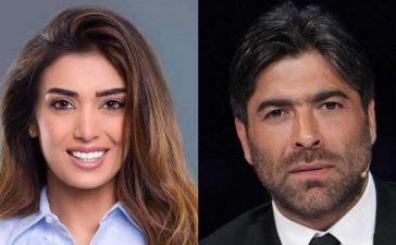 وائل كفوري وجيسيكا عازار