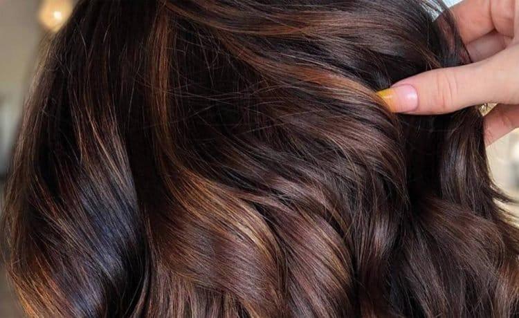صور صبغات الشعر بني