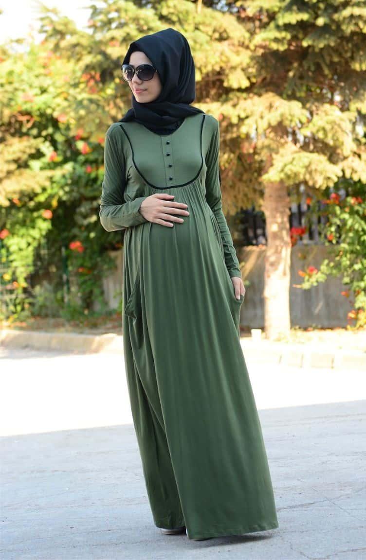 فستان حوامل للمحجبات