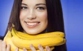 خلطة الموز للشعر الأبيض