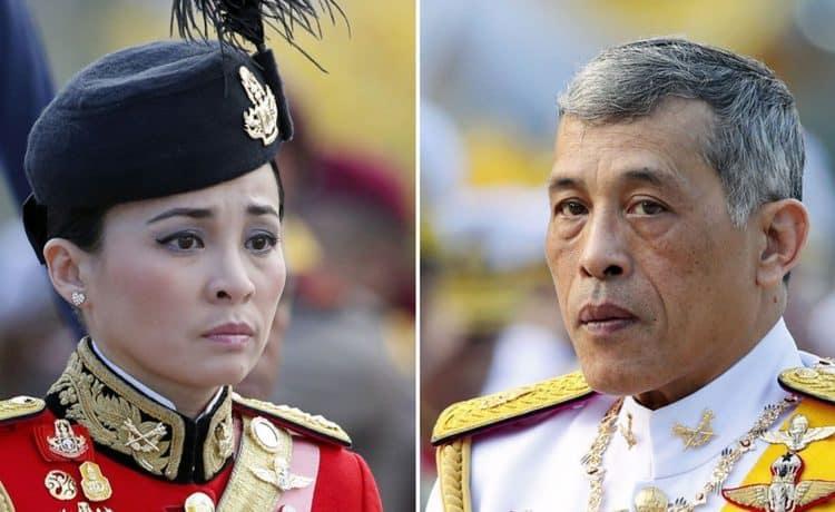 ملك تايلاند هجر صديقته