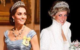 مجوهرات الأميرة ديانا