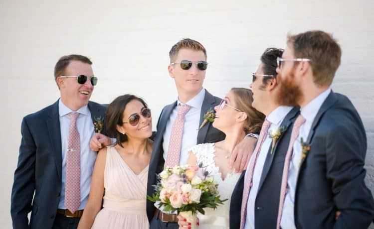 نظارات شمسية للعروس